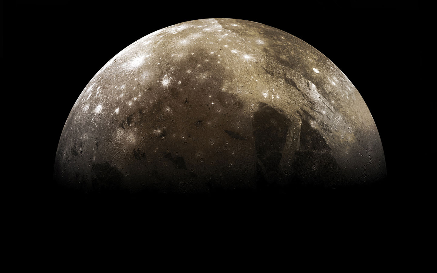 Ganymede Credit: Galileo Project, NASA